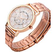 women's watch gevena watch rose gold band