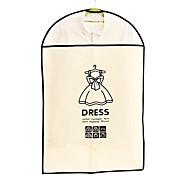 9985 gruesos overclothes polvo chaqueta objeto ropa cubierta de la bolsa a prueba de polvo traje de la cubierta que cuelgan por mayor