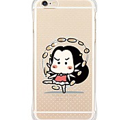 iPhone SE/5s/5 Little Cute Girl TPU&Silicone Soft Back Cover