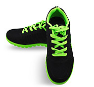 Green/Gray/Blue Damping Plastic Running Shoes for Women