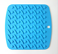 Thick Silicone Mat Slip Mat Insulation Mat Table Mat 5Pcs