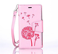 Dandelions Diamond Flip Leather Cases Cover For Samsung J Series Strap Wallet Phone Bags