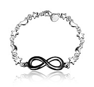 Fashion Jewelry Dress Black and Silver Fashion Jewelry Bracelet for Girl