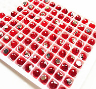 100 Pcs Nail Art Decoration Crytal Ball Easy To Stick