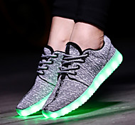 Women's Fashion LED Shoes High LED light luminous shoes USB charging Best Seller Casual Shoes Blue / Green / Red /Gray