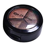 3 sombras de ojos colores de maquillaje desnuda belleza de larga duración comestic