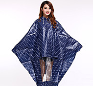 Eva Motorcycle Electric Vehicles Poncho Raincoat Thickened Fresh New Green