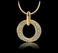 May Polly  European fashion diamond necklace wreath