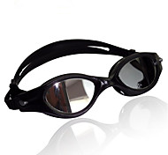 Swimming Goggles Unisex Sports / Diving Goggles Black Latex PC