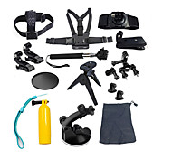 Gopro Accessories Protective Case / Monopod / Tripod / Screw / Buoy / Suction Cup / Straps / Mount/Holder / Accessory KitAll in One /