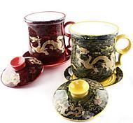 Ceramic Tea Set Waves Jinlong Cup