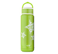 FUGUANG Stainless Steel Water Bottle Green / Purple