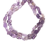 Beadia 10-20mm Irregular Natural Amethyst Stone Beads 38Cm/Str (Approx 26Pcs)