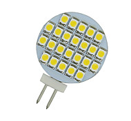 2 PCS Warm White 3500K AC/DC 12V G4 24 SMD LED Reading Marine Boat Spot Light US