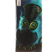 Owl Painting Pattern TPU Soft Case for Lenovo K3 Note