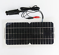 el panel solar monocristalino 12v 5.5w zdm® salida USB de silicio (dc12-18v)
