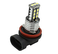 Pure Xenon white H11 High Power 15W LED bulbs DRL Fog/Driving Head Light US 12V