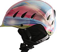 PROSTAR® Helmet Unisex Snow Sport Helmet Ultra Light (UL) / Sports Sports Helmet Pink / Blue Snow Helmet CE EN 1077 PC / EPSSnow Sports /