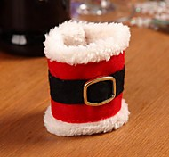 Christmas Decorations Buckle Belt Napkin Ring Napkin Sets New Christmas Creative Supplies