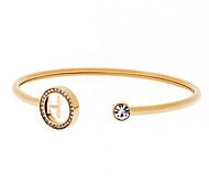 Fashion Bracelets For Women Crystal Steering-Wheel Letter Cuff Bracelets Bangle Bracelet Femmel