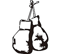 Fashion Wall Stickers Sport Boxing Bags Wall Stickers Vinyl Removable Decals Gym Murals Home Decor