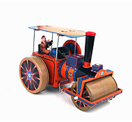 Roller Wind-up Toy Leisure Hobby Metal Red For Kids