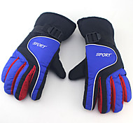 Winter Gloves Unisex Keep Warm Ski & Snowboard Green / Red / Blue Canvas Free Size-Others