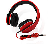 JKR 111 Headphone Stereo Sound with Microphone Compatible with Cell phones and Computers