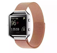 Magnetic Milanese Loop For Fitbit Blaze Band Smart Watchband Bracelet Strap Stainless Steel