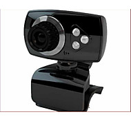 USB2.0 30FPS 1200W Pixel  360 Degree Rotating HD Desktop Computer Camera Webcam