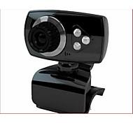 USB2.0 30fps 1200w de píxeles de 360 grados de rotación de la cámara hd ordenador de sobremesa de cámaras