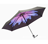 Half Off Portable Umbrella Sun Umbrella Uv Umbrella Lemon