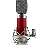 Wired Unidirectional Condenser Microphone with Shock Holder Clip