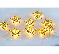 13.5M 10LED Star String Lights