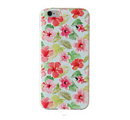 Full Body /Frosted / Embossed /Flower16 TPU Soft with Lanyard/String/Rope Case Cover For iPhone 6/6s/6plus/6s plus