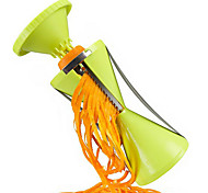 4 in 1 Vegetable Cutter Spiral Slicer Spiralizer Kitchen Hilfer For Vegetable Salad Noodles Spaghetti
