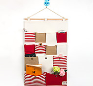 Thirteen Pockets Behind The Door Navy style Storage Bag