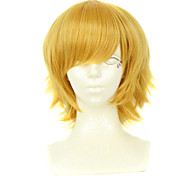 Men's Golden Cosplay Wigs No Specific Character