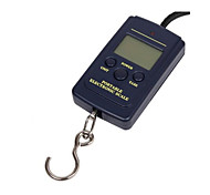 Portable Electronic Scale Hook(Maximum Scale: 40KG,English Backlight)