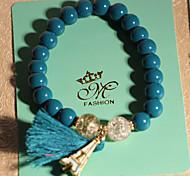 Strand Bracelets 1pc,Blue / Pink Bracelet Fashionable Circle 514 Crystal Jewellery