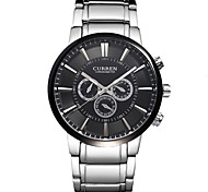 Men's Watch Dress Watch Water Resistant Fashion Steel Band Cool Watch Unique Watch