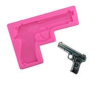 Gun Type Candy Fondant Cake Molds  For The Kitchen Baking Molds 10.8*6.5*1cm