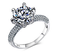 Ring Romantic Classic Solid 925 Sterling Silver Fashion Jewelry Ring Brand New Ring For Women Gift