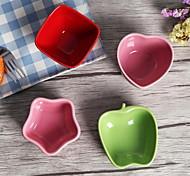 jingdezhen queue de commerce extérieur simples plaques de cuisson de couleur aléatoire