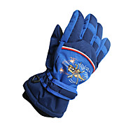 Ski Gloves Winter Gloves Kid's / Unisex Keep Warm Ski & Snowboard Pink / Black / Blue Canvas Free Size