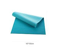 Badvorleger-Einfach-Blau / Grün-PVC
