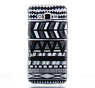 TPU Material Black Tribal Pattern Pattern Cellphone Case for Samsung Galaxy J710/J510/J5/J310/G530/G360