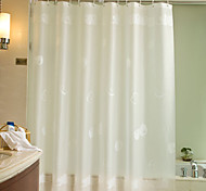 "Cortina de baño-Moderno- dePEVA-71""W x 79""H"