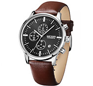 MEGIR® Mens Watches Brand Luxury 2015 Business Watch  Quartz-Watch and Waterproof Outdoor Chronograph Cool Watch Unique Watch Fashion Watch