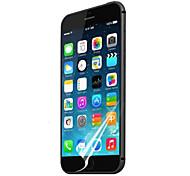 """[3-pack] alta transparencia de cristal LCD protector de pantalla transparente profesional con paño de limpieza para el iphone 6 (4,7 """")"""